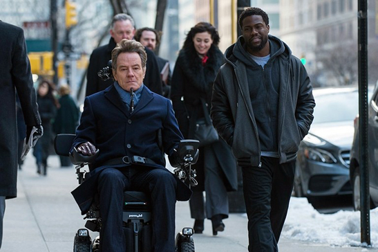 Kevin Hart, Bryan Cranston in box office hit 'The Upside'