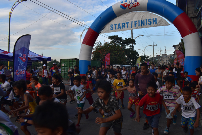 Pasig residents join two fun runs