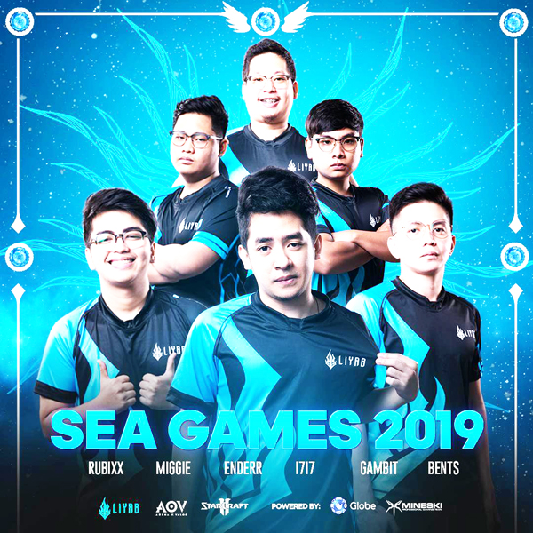 Liyab leads national esports team as 6 of its bets eye glory