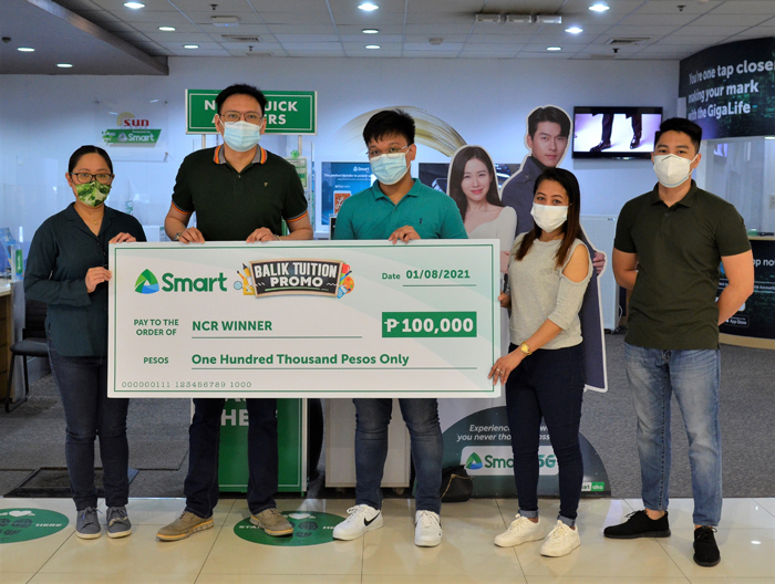 Future doctor bags Smart 'Balik Tuition' grand prize in NCR