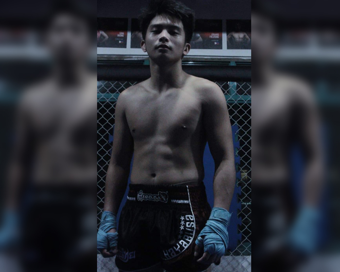 A young warrior's passion for combat sports