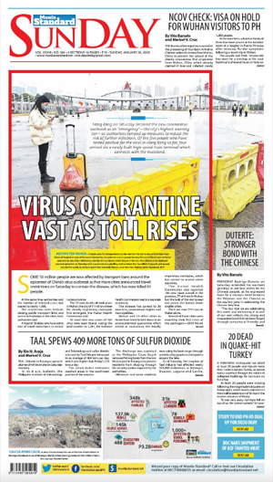 Sunday Print Edition (01/26/2020)