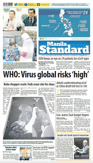 Wednesday Print Edition (01/29/2020)