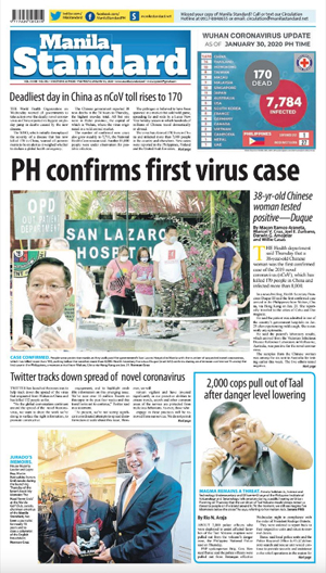 Friday Print Edition (01/31/2020)