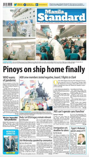 Wednesday Print Edition (02/26/2020)