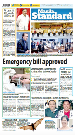 Tuesday Print Edition (03/24/2020)