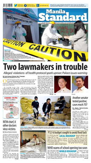 Friday Print Edition (03/27/2020)