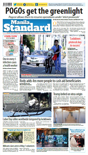 Saturday Print Edition (05/02/2020)