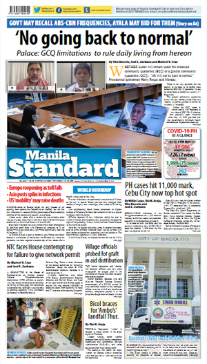 Tuesday Print Edition (05/12/2020)