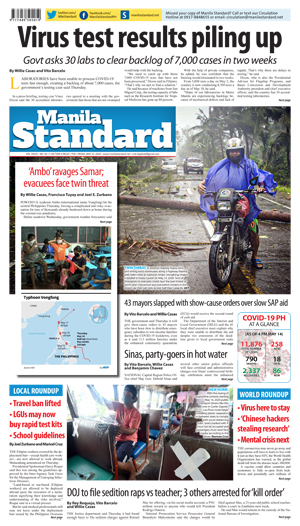 Friday Print Edition (05/15/2020)