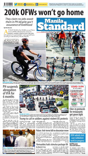 Wednesday Print Edition (06/03/2020)