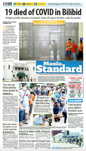 Tuesday Print Edition (07/21/2020)