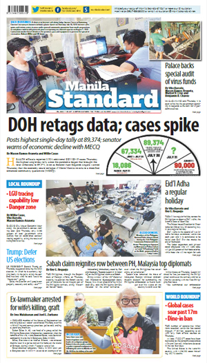 Friday Print Edition (07/31/2020)