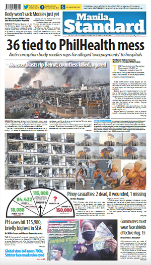 Thursday Print Edition (08/06/2020)