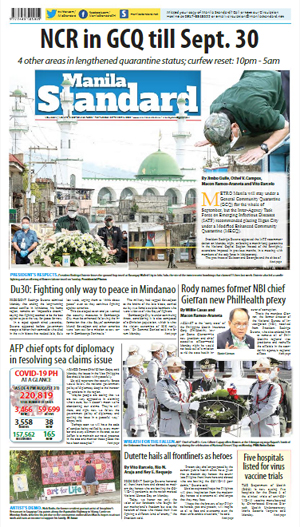 Tuesday Print Edition (09/01/2020)