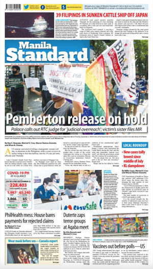 Friday Print Edition (09/04/2020)