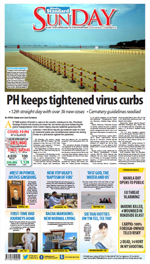 Sunday Print Edition (09/20/2020)