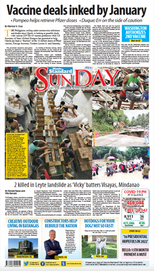 Sunday Print Edition (12/20/2020)