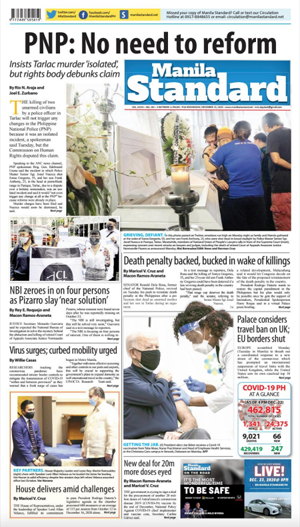 Wednesday Print Edition (12/23/2020)