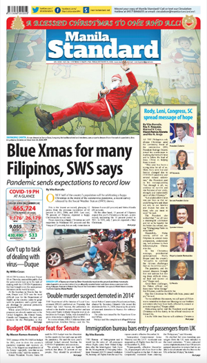 Friday Print Edition (12/25/2020)