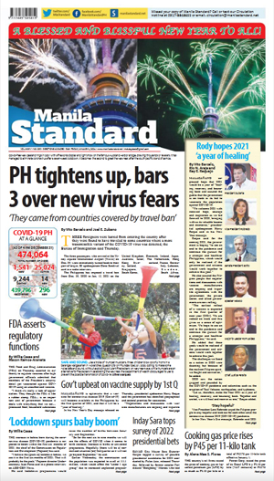 Friday Print Edition (01/01/2021)