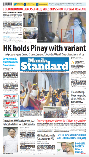 Thursday Print Edition (01/07/2021)