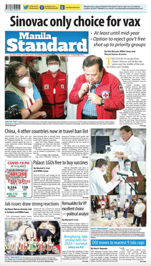 Wednesday Print Edition (01/13/2021)
