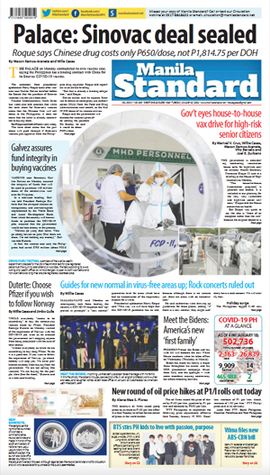 Tuesday Print Edition (01/19/2021)