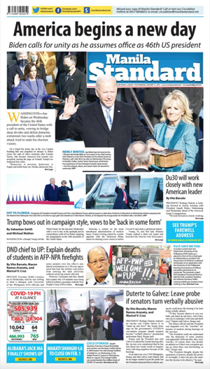 Thursday Print Edition (01/21/2021)